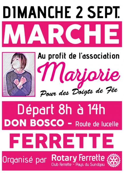 Marche pour Marjorie