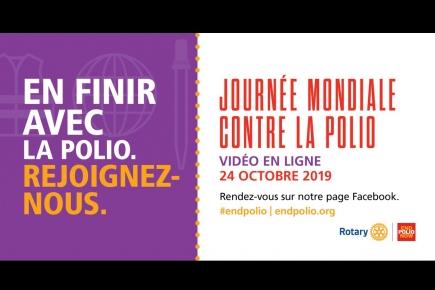 24 octobre 2019 - Journée mondiale contre la polio